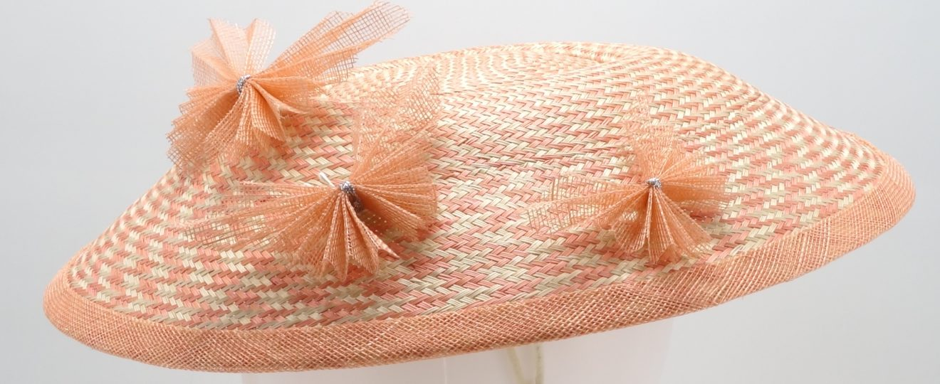 dior brim hat by sydney millliner Abigail Fergusson