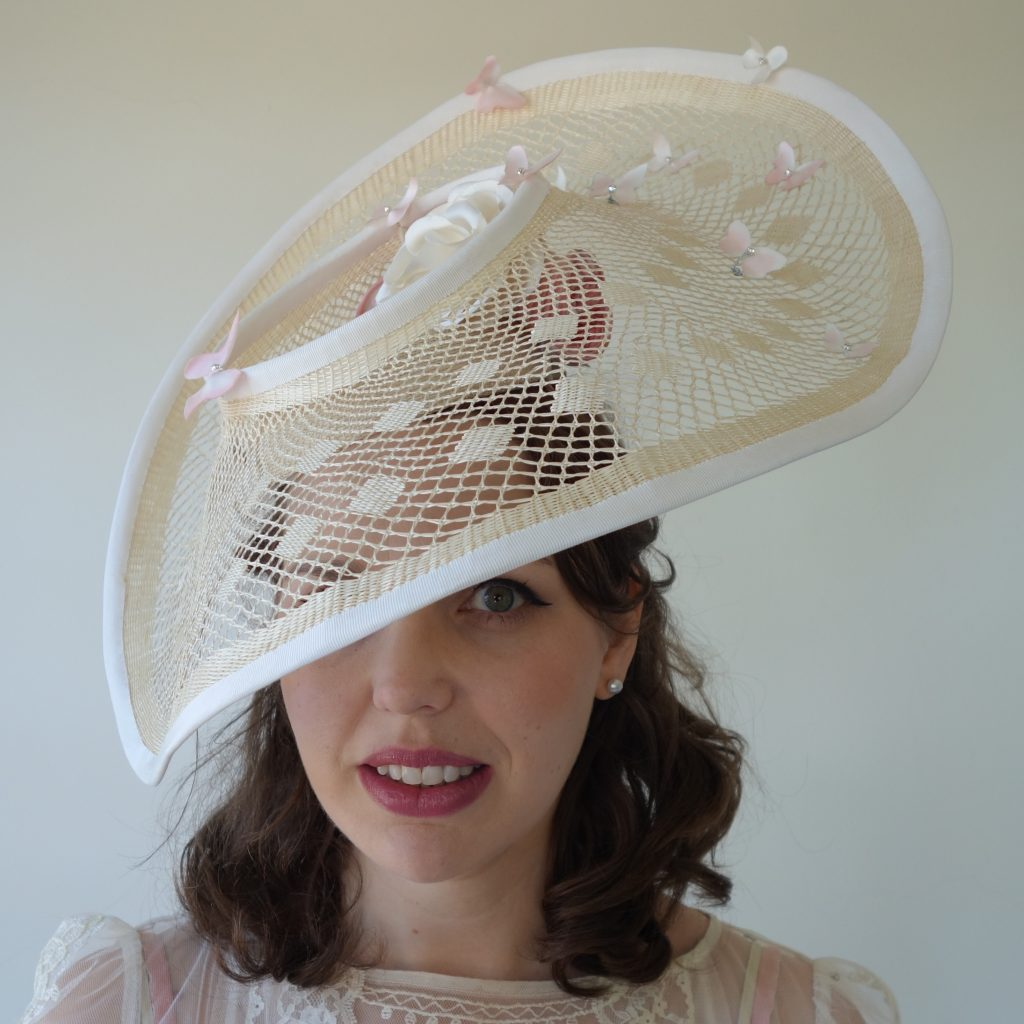 Melbourne Cup FOYFL 2020 Millinery Award Entry by Sydney Millinery Abigail Fergusson Millinery